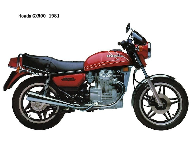 CX500 '78-'81