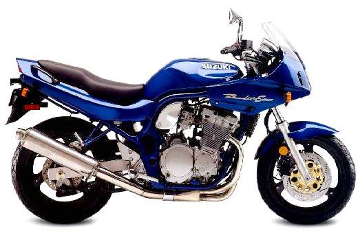 GSF600S BANDIT '97-'01