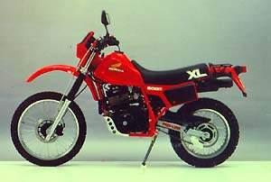XL600R '85