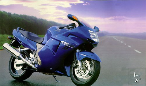 CBR1100 XX '99-'01 (1st generation of injection model)
