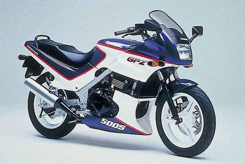 GPZ500S '87-'92
