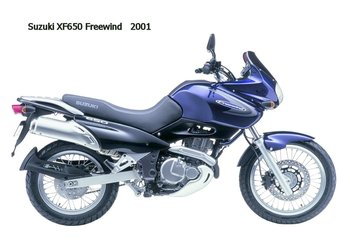 XF 650 FREEWIND '01-'04