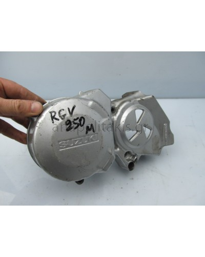 SUZUKI RGV250M LEFT ENGINE COVER
