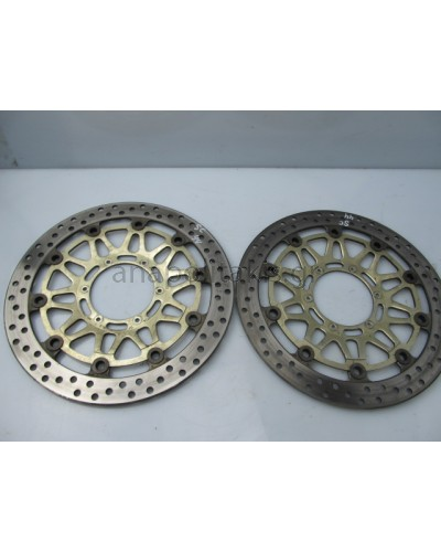 HONDA CBR929 PAIR BRAKE RIMS GENUINE