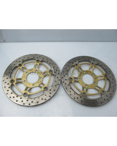 SUZUKI GSXF750 KATANA '01-'03 FRONT BRAKE RIMS GENUINE