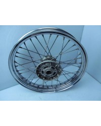 KAWASAKI ZL 600 ELIMINATOR EL 600 FRONT WHEEL USED GENUINE 2ND GEN. FINE