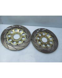 GSF600 BANDIT FRONT BRAKE DISK PAIR GENUINE